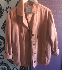 Pull & Bear oversize roze jakna , nova M