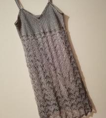 Siva koncana haljina