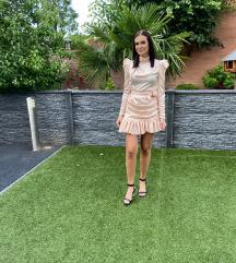 Satenska nova haljina