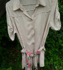 Vintage kosulja-tunika sa esarpom S/M