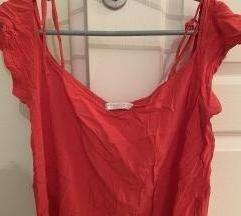 Crvena leprsava letnja majica
