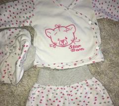 Kompletic za bebe sa kapicom