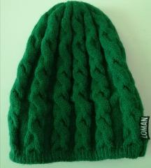 Zelena zimska kapa