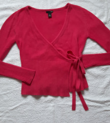 Kao nov mekan H&M wrap dzemper od vune i angore