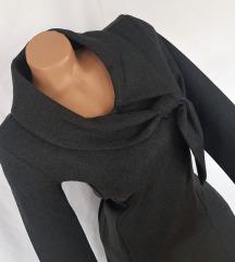RAXELL ★ nova grafit vintage haljina jesen/zima
