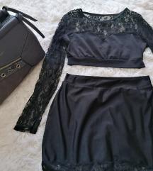 Komplet majica i suknja