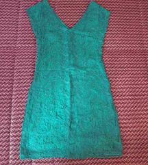 Zelena haljina mango