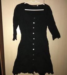 Crna haljinica sa karnerima