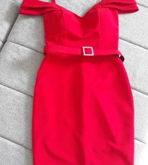 Crvena haljina,kao nova🚨