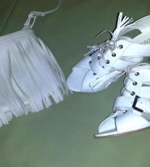 Bele sandale nove!