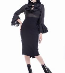 Glamour Ghoul Pencil Dress Killstar XS