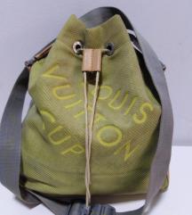 Louis Vuitton velika torba koža platno 38x38