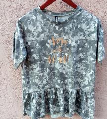 Sivo šarena majica