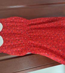 Letnja haljinica sa kragnom