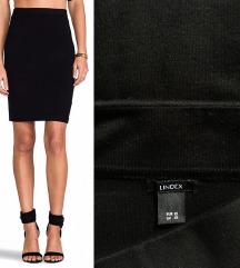LINDEX nova knit laserski sečena suknja
