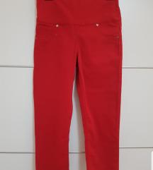 💕Crvene pantalone 3/4💕