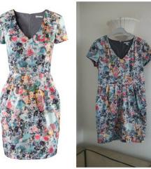 H&M cvetna haljina
