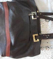 mona / braon/ kozna /torba