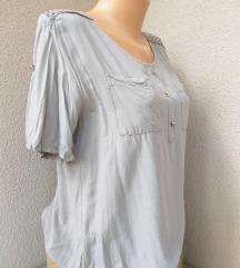 Bež bluza sa heklanim detaljima vel M/L