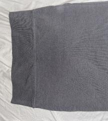 Suknja uska siva