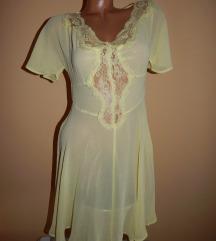 Zuta providna haljina