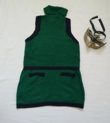 Zeleni džemperak bez rukava