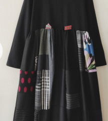 Haljina pačvork oversize