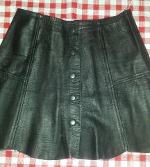 Kozna suknja XS