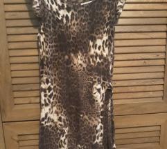 leopard italijanska haljina