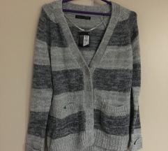 NOVO! Ženski džemper na raskopčavanje