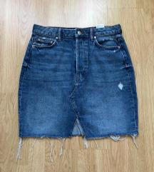 Teksas suknja H&M