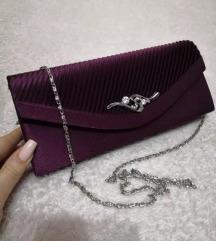 Pismo torba - tamno ljubičasta
