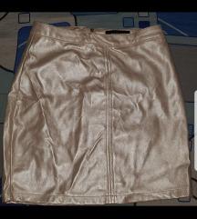 Suknja boje zlata