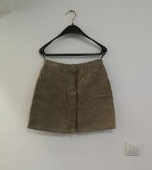 Sisley vintage koznja suknja