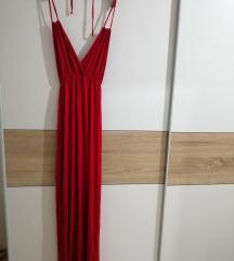 Boohoo crvena haljina