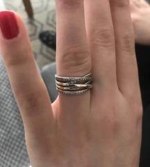 Sparkling prsten swarovski kristali