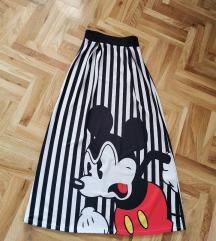 Mickey duga suknja