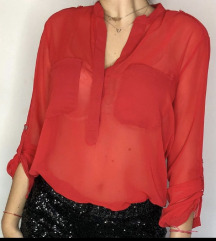 FERVENTE crvena košulja/bluza
