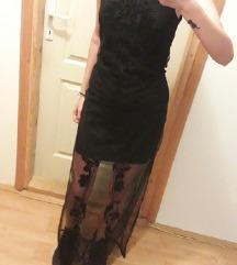 Koton duga crna haljina