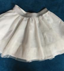 Bela suknja za devojcice