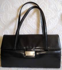 Mona crna kožna torba kao nova