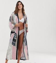 LINDEX EllaM luksuzni kimono ogrtac NOVO
