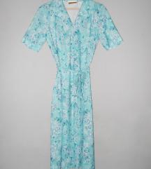 Jeannie cvetna vintage haljina