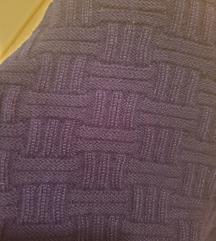 MINI trikotazna suknja - NOVA teget boje