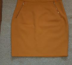 Zuto narandzasta  H&M suknja