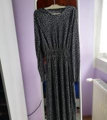 Zara haljina sitno plisirana