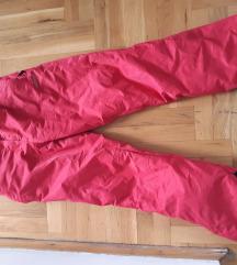 Pink ski pantalone