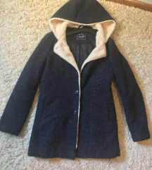 Teget teddy coat