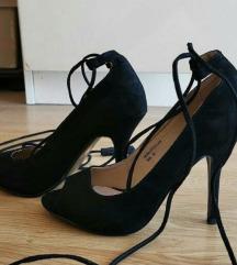 Cipele sa otvorenim prstima, jednom nošene