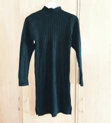 Crna kasmir haljina nova